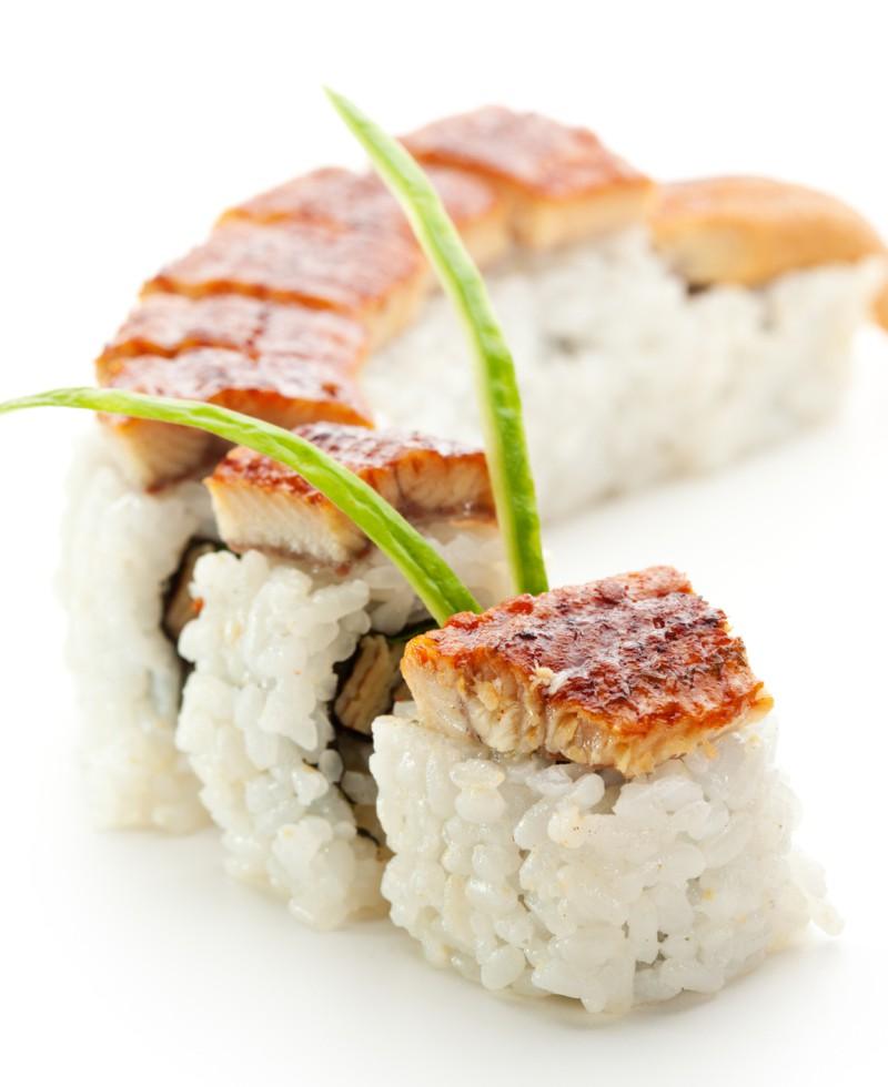 Smoked Eel Maki Sushi